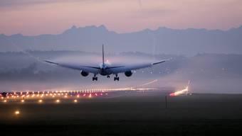 Zu Unrecht am Pranger? Weltweit macht der Flugverkehr 2 bis 3 Prozent des CO2-Ausstosses aus.