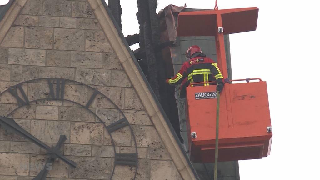 Kirche Herzogenbuchsee: Brand endgültig gelöscht