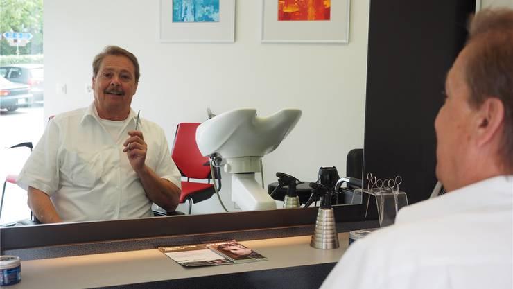 Den Salon in Frick eröffnete Hansjörg Schraner 1977. Vor gut zwei Jahren übergab er ihn an Heidi Winter. Thomas Wehrli