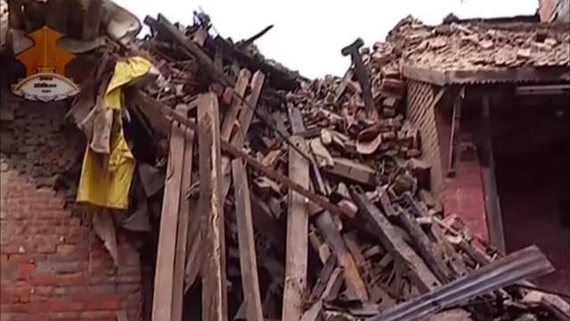 Erdbeben in Nepal
