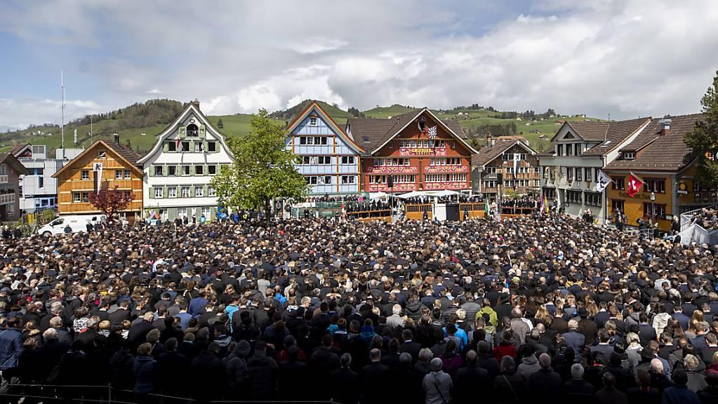 Statt der abgesagten Appenzeller Landsgemeinde finden am 23. August in Innerrhoden Urnengänge statt (Archivbild 2019).