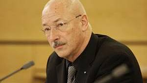 Der abgetretene Regierungsrat Rainer Huber