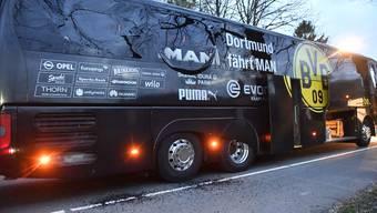 Bombenanschlag auf Mannschaftsbus von Borussia Dortmund (11.04.17)