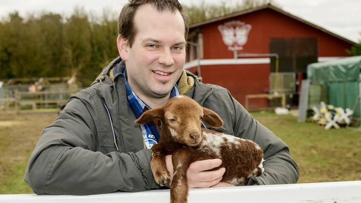 Olivier Bieli hat ein Herz für Tiere.