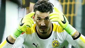 Roman Bürki hat den Ball im Spiel gegen Ingolstadt stets unter Kontrolle