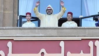 Hoff auf baldigen Regen für das Land: Der marokkanische König Mohammed VI. (Archivbild)