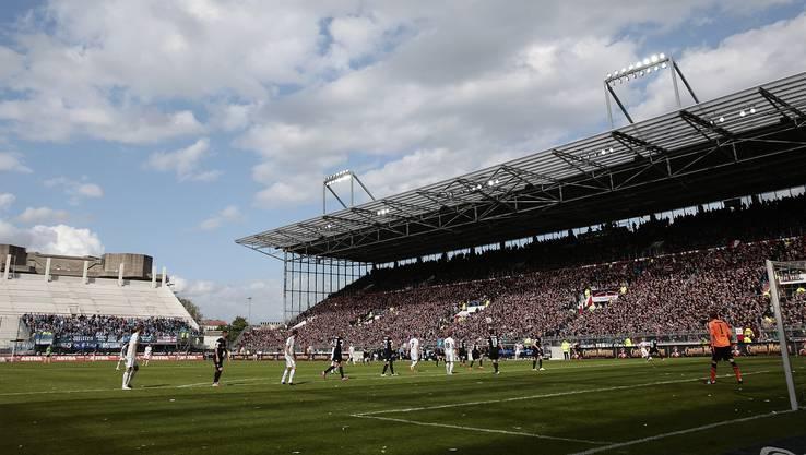 Das legendäre Millerntor-Stadion des FC St.Pauli.