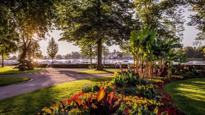 Die grünen Kulturdenkmale spiegeln den Zeitgeist verschiedener Epochen: Lindauer Gartenkulturpfad. Foto: Bodenseegärten, Helmuth Scham