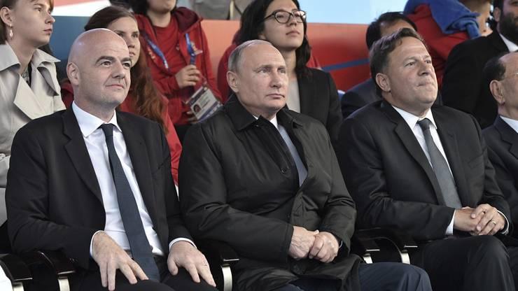 Wladimir Putin ahnt nichts Gutes für sein Nationalteam.