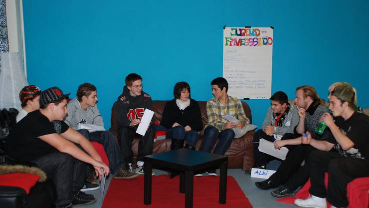 Jugendrat: Bereits an der ersten Sitzung kamen brisante Themen zur Sprache. (fh)