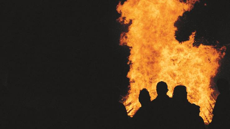 Höhenfeuer gehören seit je zur Bundesfeier, Feuerwerk wurde erst ab den 1950er-Jahren populär.