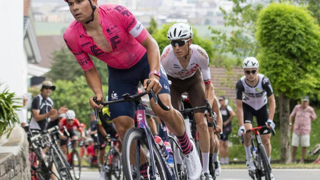 Stefan Bissegger im Juni an der Tour de Suisse (Archivbild)