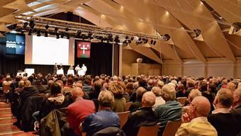 Über 300 Personen waren im Januar schon nur an der Informationsveranstaltung zum Zukunftsraum im Zentrum Bärenmatte anwesend.
