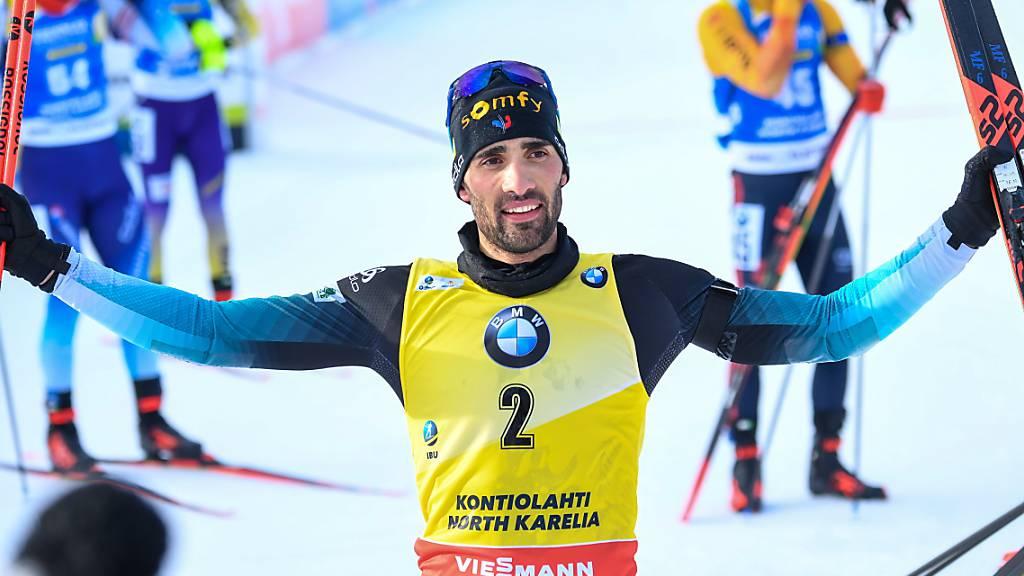 Monsieur Biathlon sagt Adieu und Au revoir