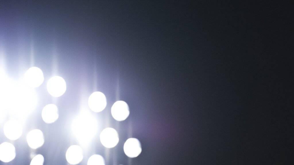 Beim Europa-League-Quali-Spiel zwischen Admira Wacker Mödling und Slovan Liberec gab das Flutlicht gleich dreimal den Geist auf