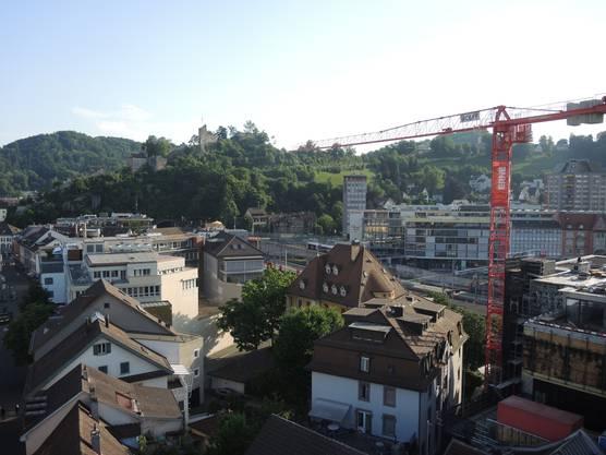 Schloss Stein, das Torre und das Gstühl-Center