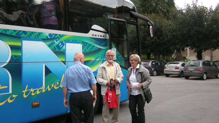 Unsere Glarner Mitglieder Gertrud Schwander und Richard Brenner.