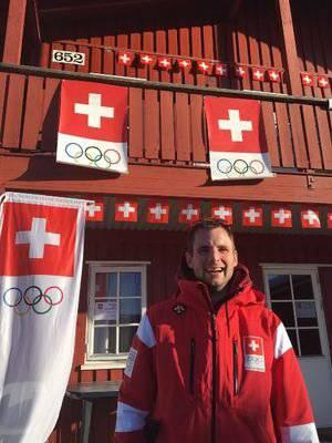 Sportmediziner Hanspeter Betschart an den Youth Olympic Games in Lillehammer (Bild: medbase.ch)
