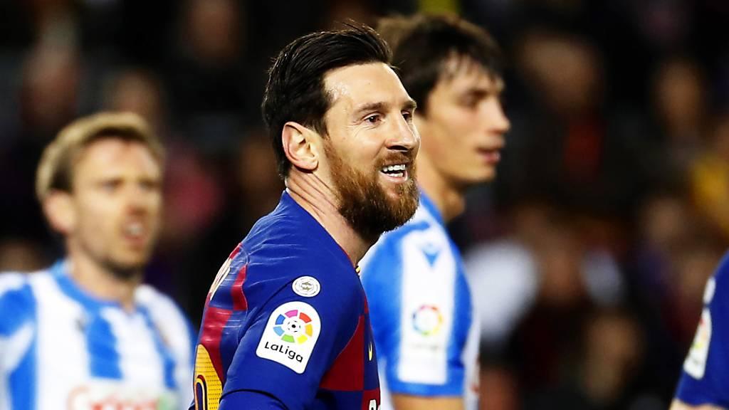 Barcelona siegt dank Messi gegen San Sebastian