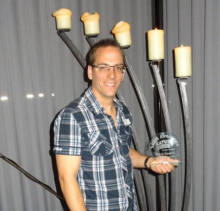 Satus Award 2014 für Charly Zimmerli