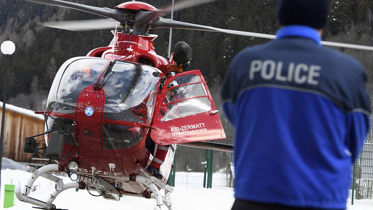 Wegen starken Windes und schlechter Sicht konnten in Zermatt keine Helikopter für die Suche nach dem Tengelmann-Chef Karl-Erivan Haub starten. (Archivbild)