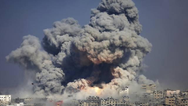 Israelischer Luftangriff auf Gaza City (29. Juli 2014)
