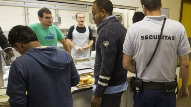 Blick in die Asylunterkunft Schweig bei Realp (Archivbild)