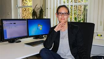 Sheena Heinz ist seit Anfang Jahr Gemeindeschreiberin in Zeiningen. dka
