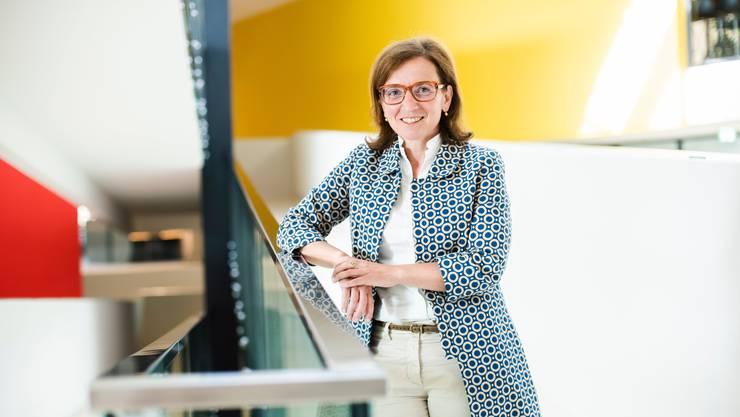 CSS-Chefin Philomena Colatrella im Hauptsitz des Unternehmens an der Tribschenstrasse in Luzern.