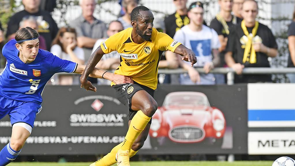 Nicolas Moumi Ngamaleu ist beim Cupspiel in Freienbach nur schwer zu stoppen