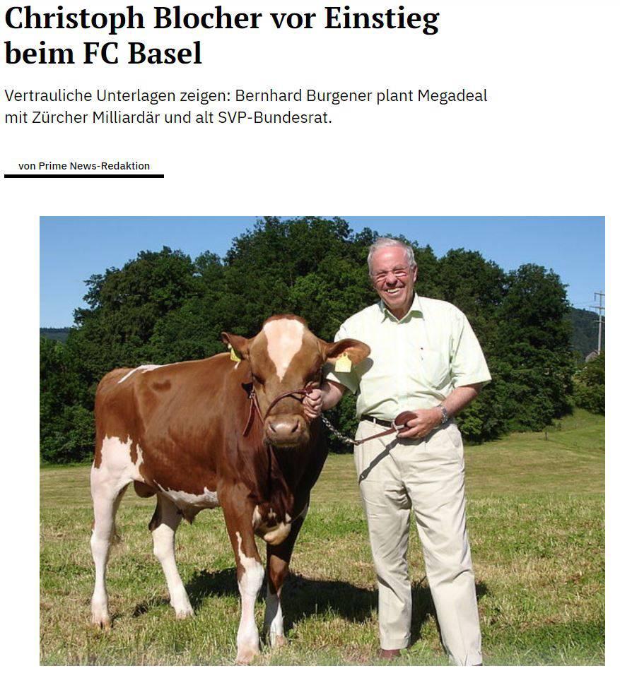 Christoph Blocher 1. Aprilscherz
