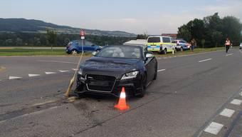 70000 Franken Schaden nach einen heftigen Unfall auf der Seetalstrasse.