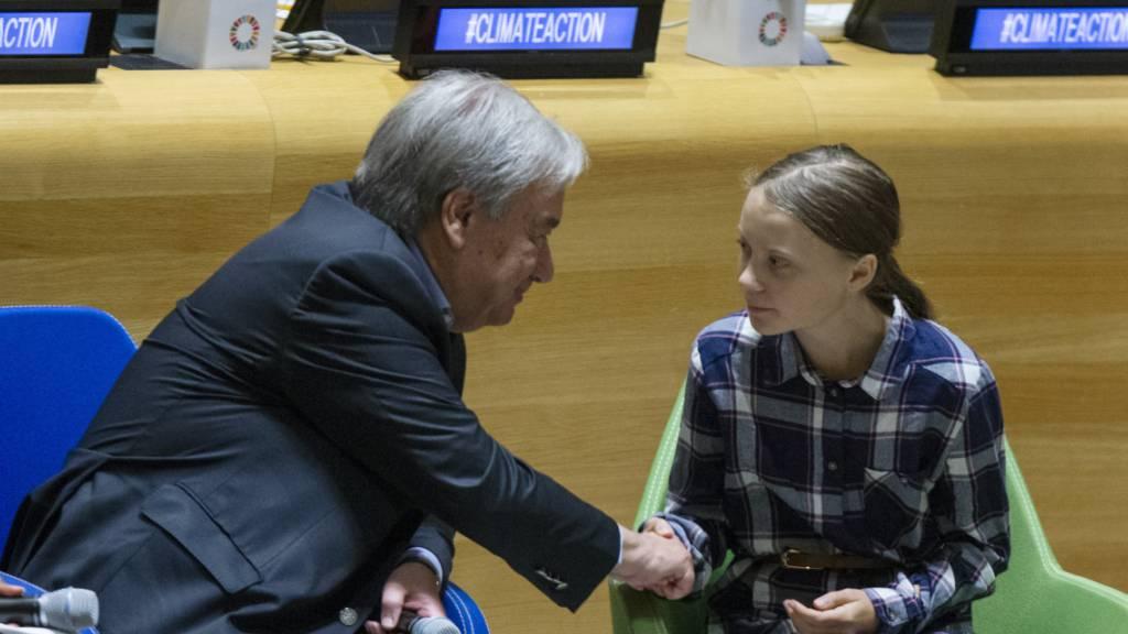 Guterres lobt Jugendliche für Klima-Aktivismus