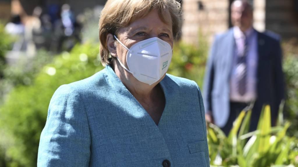 Merkel: «Erheblicher Beitrag» zur Impfstoffverteilung aus Deutschland
