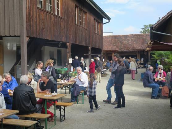 Trottenfest im Ortsmuseum Schürhof Windisch