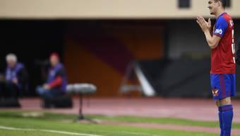 Kevin Bua bei seinem wohl letzten Einsatz für den FCB im Cup gegen Lausanne. Er wollte trotz drohendem Engpass nicht bis Saisonende bei den Baslern bleiben.
