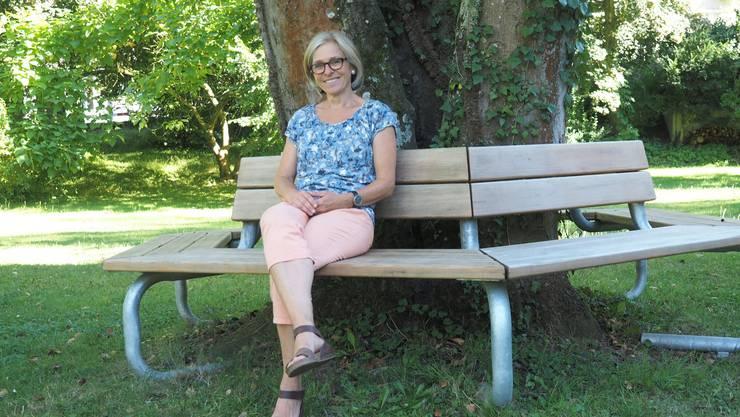 «Es ist in unserer Gesellschaft nicht einfach, sich als Trauernder zu outen»: Monika Lauper hat zusammen mit Jocelyne Kilchoer das Trauer-Kaffee initiiert.
