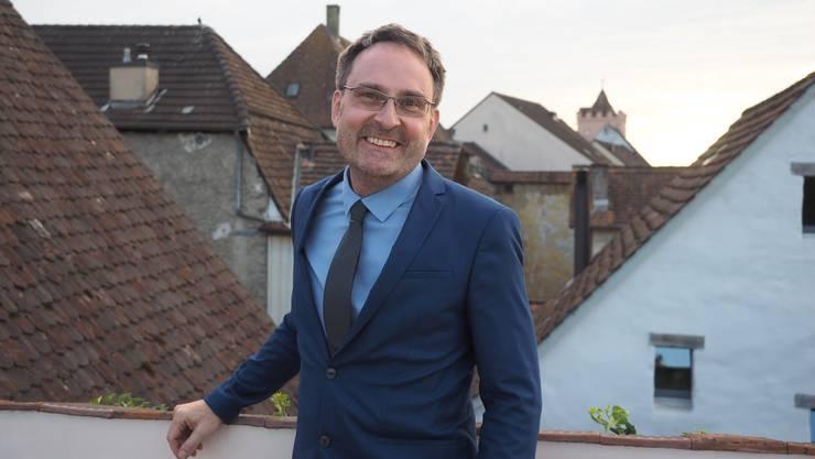 Michael Derrer hat ein Kinderlied über das Dorf Möhlin komponiert.
