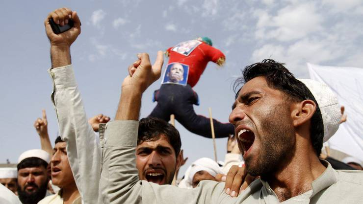 Der Anti-Islam-Film führt auch in Afghanistan zu Demonstrationen