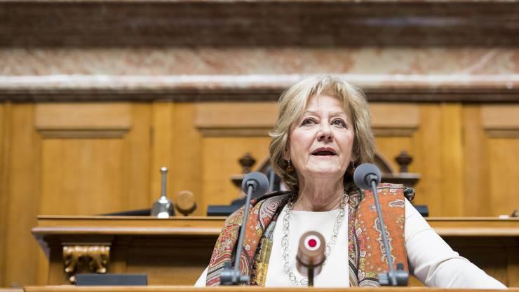 Die Baselbieter SP-Nationalrätin Susanne Leutenegger Oberholzer ist eine der wenigen Parlamentarierinnen aus der Region Basel, die in Bern als einflussreich gilt.