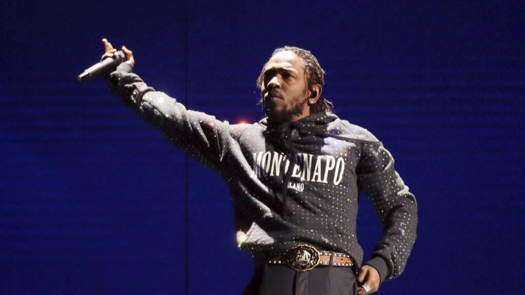 Kendrick Lamar kriegt als erster Rapper einen Pulitzer-Preis.
