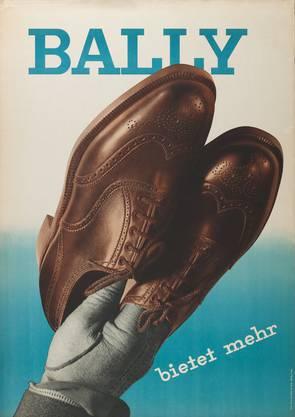 Heinrich Steiner, Fotografie: Ernst A. Heiniger, Bally bietet mehr, 1936