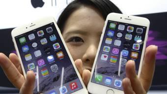 Das iPhone 6 bringt Apple wieder an die Spitze (Archiv)
