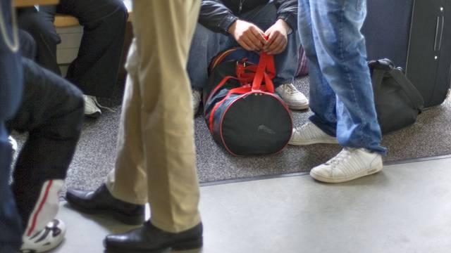 Asylbewerber an der Empfangsstelle in Basel (Symbolbild)