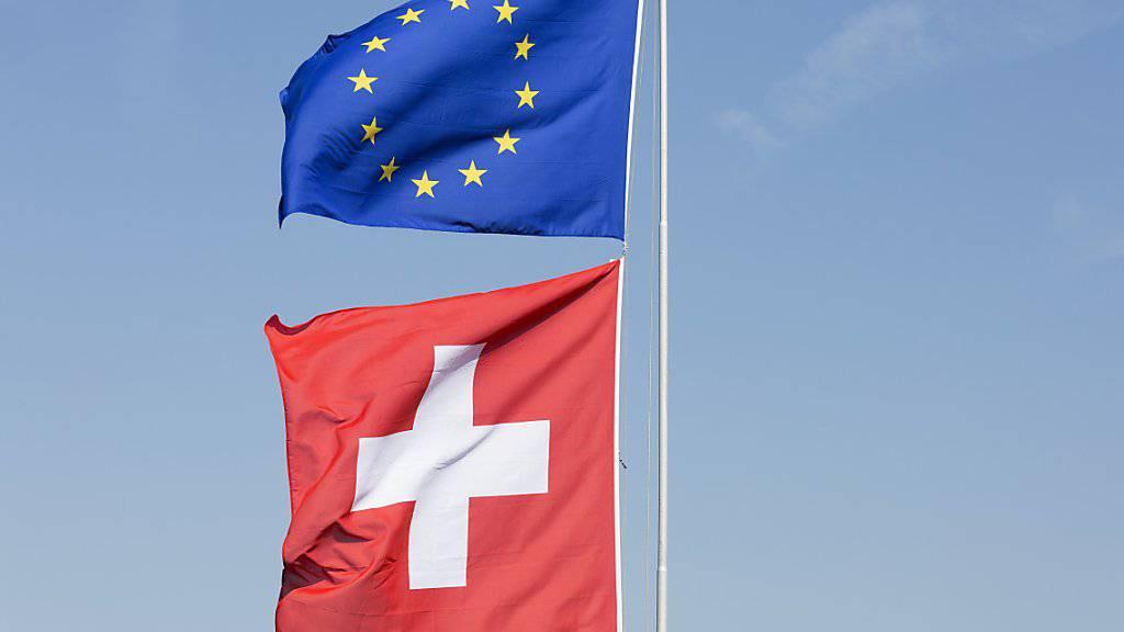 Wie weht der Wind in der Schweizer Bevölkerung für ein Rahmenabkommen mit der EU? Gemäss einer Umfrage gut - eine Mehrheit steht einem solchen positiv gegenüber. (Symbolbild)