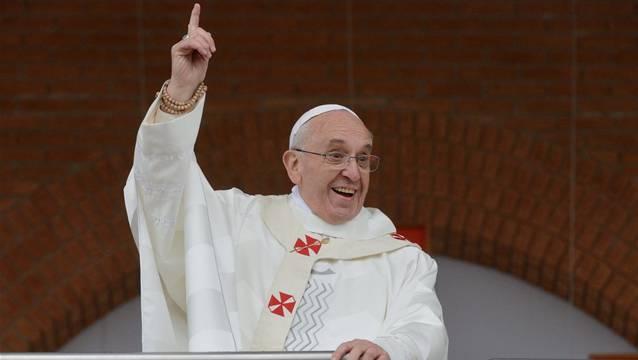 War früher als Türsteher einer Bar im Nachtleben beschäftigt: Papst Franziskus.