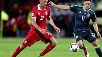 Nemanja Matic (links) wechselt von Chelsea zu Manchester United