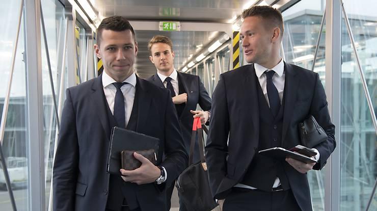 Marek Suchy (li.) und Tomas Vaclik.