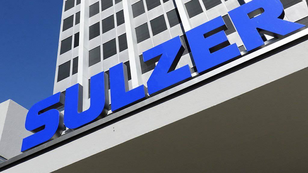 Der Sulzer-Konzern ist auf Einkaufstour in den USA gegangen: Bild des Sulzer-Logos (Archiv).