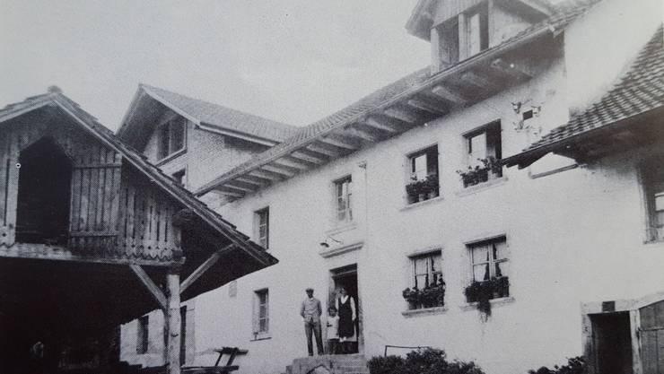 Das erste Bild der Mühle, um 1933